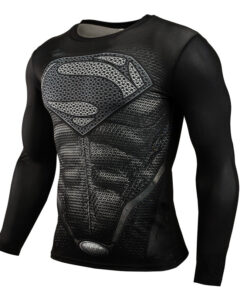 CORDEE compression shirt MMA fitness Crossfit Men long sleeve animated bodybuilding