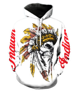 2018 hoodies for men 3d Indian hooded skeleton two parts