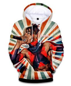 2018 hoodies men / hip hop hooded sweatshirts and funny men Raper