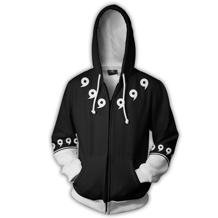 Hooded sweatshirts 2018 Men Women 3D printing long-sleeved Nine generations