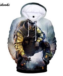 Rainbow Six Siege Men / Women's Hoodie hoodies Delgado 3D printing