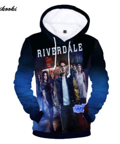 Riverdale tracksuits Hoodies Men Fall Winter Women Casual Tops