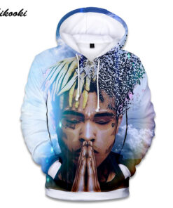 Xxxtentacion hoodies Men / Women Hip Hop shirt printing thin cotton rapper 3D