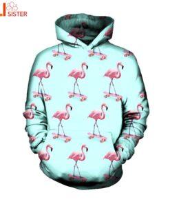 Flamenco sweatshirts Men Women 3D Print Hoodie Sportwear