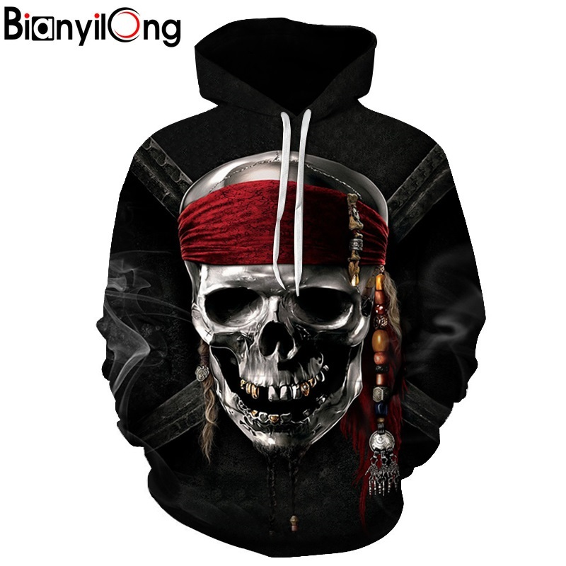 e990329fe694b Captain 3D printed hat   hoodies hooded man with red tops women hip hop  hoodies