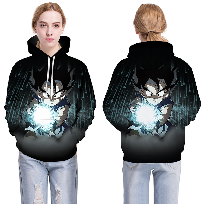 2018 Dragon Ball Z Fortnite Man 3D hip hop streetwear printed Harajuku