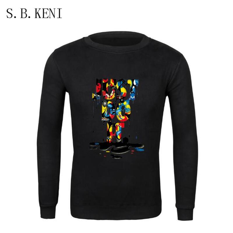 Groot just break it tee shirt basic 3D solid Fleece Men