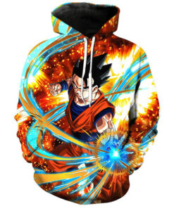 Man sweatshirt Dragon Ball Goku Super 3D Print Autumn Spring maverick