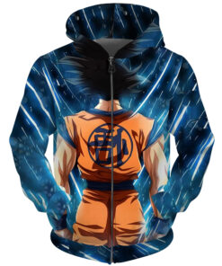 3D printing sweatshirts animated Goku hooded sweaters Men Women