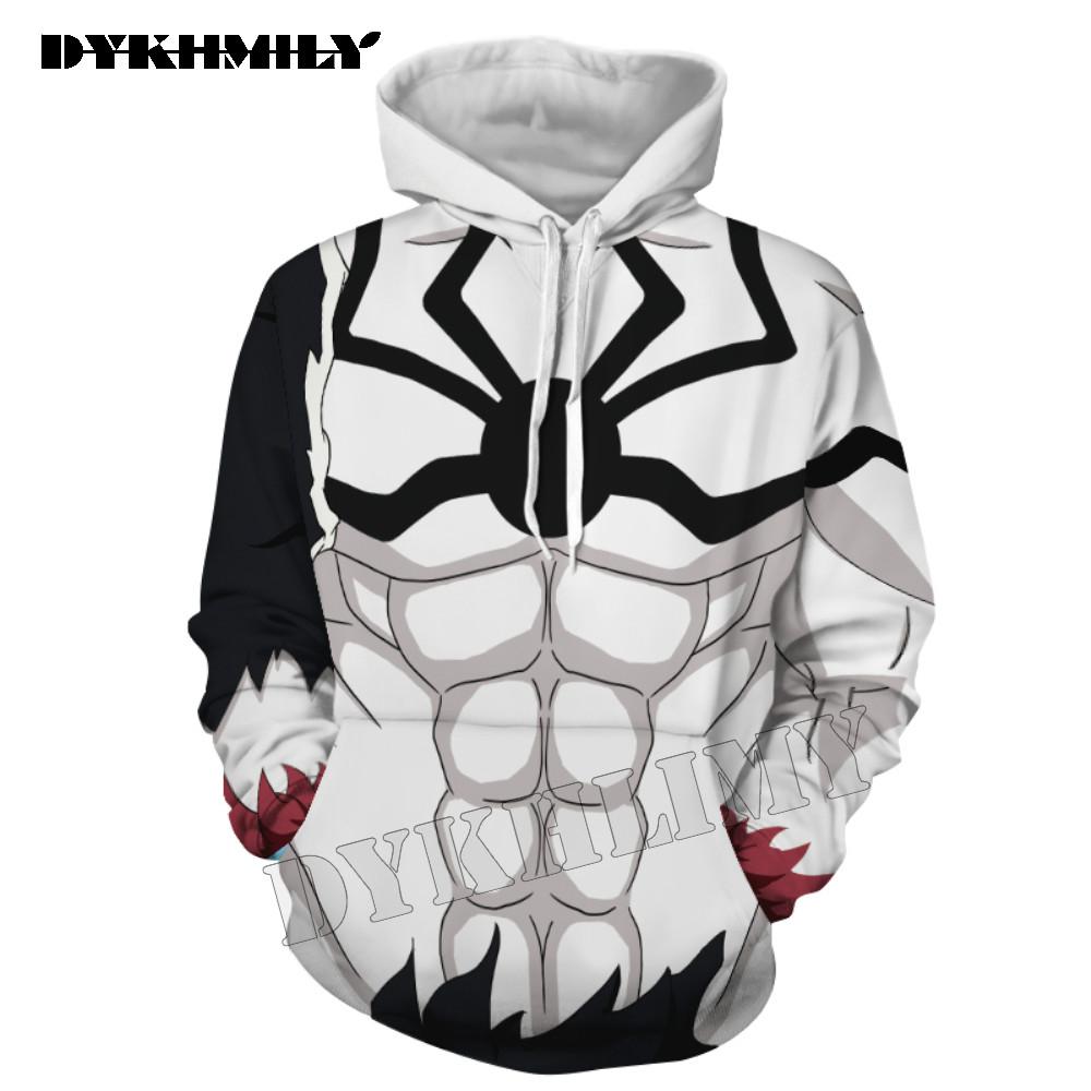 Ichigo Kurosaki 3D printing hoodies women sweatshirt Spider Cosplay Men
