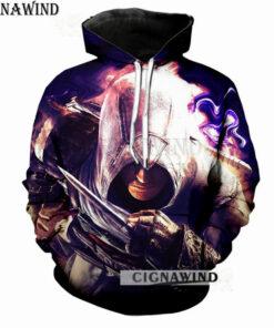 Hoodie Men / Women printed T-shirts Assassins Creed game 3D long sleeve