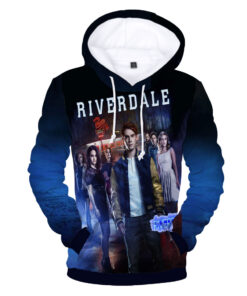 Hoodies men / women 3D printing Hip Hop hooded sweatshirts men and T-shirt Riverdale