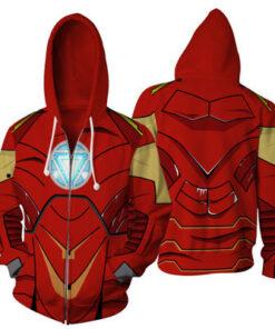Infinite War alliance Iron Man 3 Spider-Man 3D Print Sweatshirts Streetwear