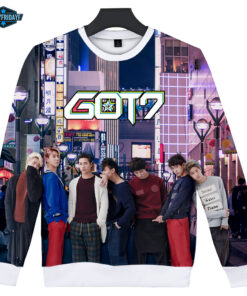 KPOP 3D GOT7 large printed size of 2
