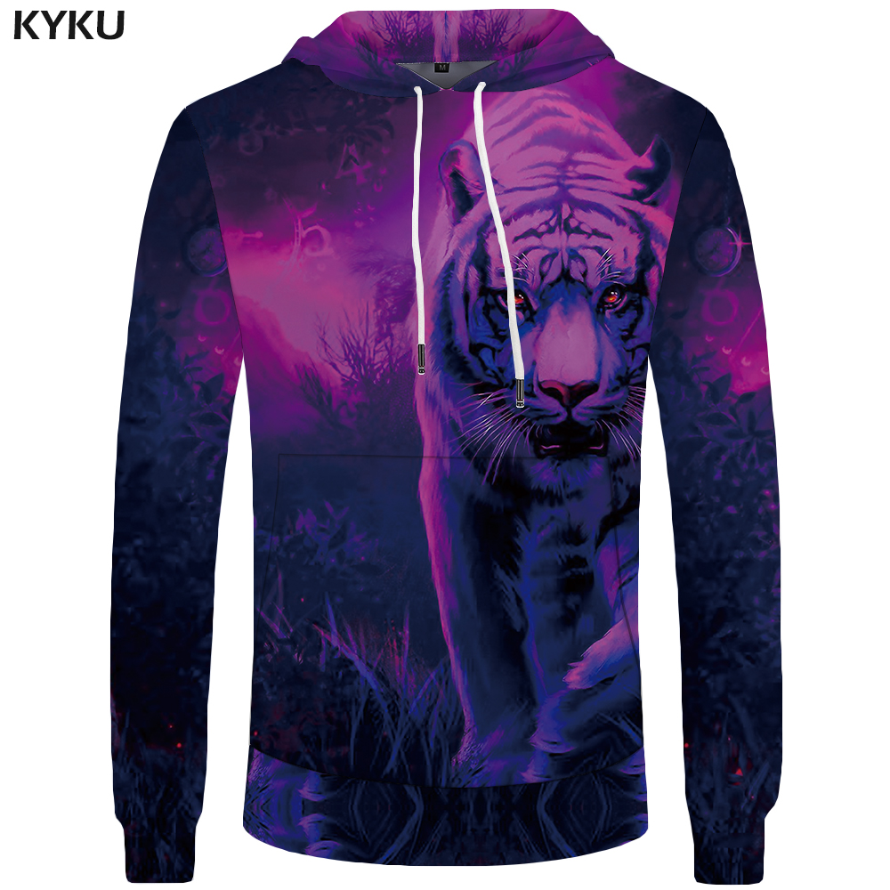 6f5eae5b93f9 Tiger animated funny clothes Mens Hoddie large size shirt 3d hoodies  tracksuit