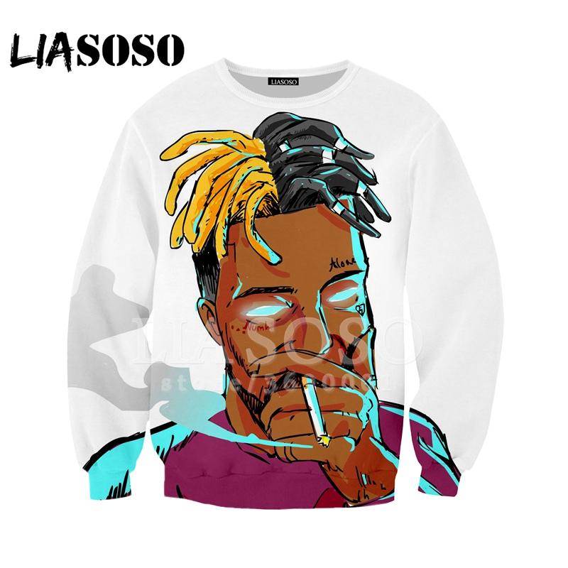 Sweatshirt hoodies 3D Printing Design Rapper Singer Men Women