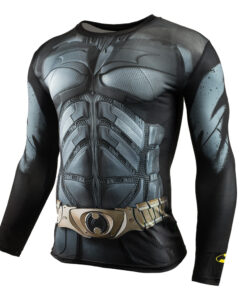Crossfit animated shirt long sleeve compression CORDEE 3D superhighway Men