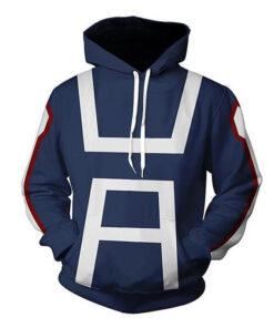 My Hero Academy Uniform Men Women 3D Sweatshirts Sweatshirts school