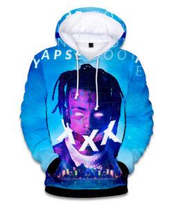 Raper famous hoodies men / women Hip Hop Harajuku 3D printing Xxxtentacion Men