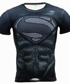 CORDEE fitness shirt Men Compression superhero Captain Punisher Skull animated