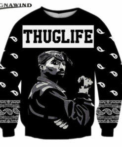 Super Star rapper 2Pac Tupac 3D printing t-shirts for men / women