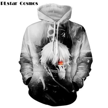 I cosmos anime Tokyo Ghoul Harajuku style long-sleeved t-shirt