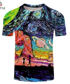 Rick And Morty 3D shirt Men women Hip Hop 2018 New Fashion Street graphic t-shirts casual all parts Printed Tops Tees