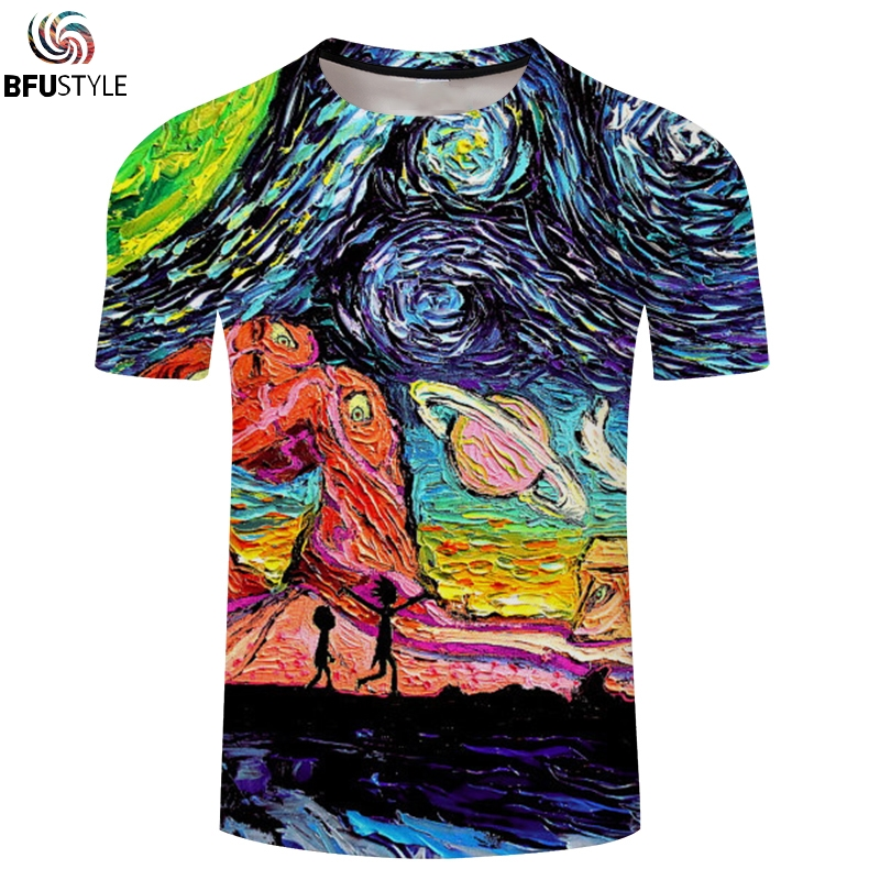 4d66b1c2e997 Rick And Morty 3D shirt Men women Hip Hop 2018 New Fashion Street graphic t-