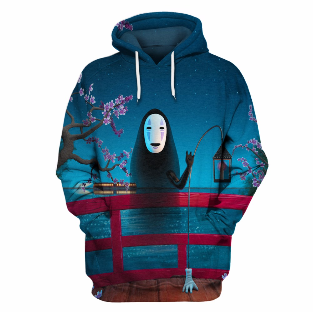 CARRY new 3d man with hooded mask witch stamped s-6XL