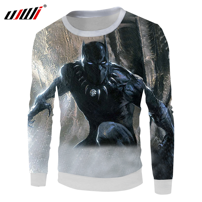 b46c258c 3D Printed Black Panther Hip Hop Hoodie Hipster casual T-Shirts